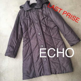 エコー(ECHO)のECOHダウンコート♡美品(ダウンコート)