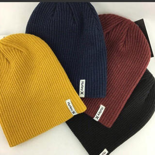 ハーレー(Hurley)のハーレー  ビーニー ニット帽  新品(ニット帽/ビーニー)