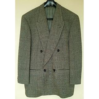 ★秋冬物・美品・日本製 ウールジャケット【BARREAUX 】イタリア製生地(スーツジャケット)