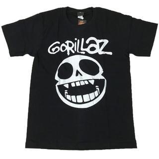 GORILLAZ/ゴリラズ  プリントTシャツ ブラック S 男女兼用(Tシャツ(半袖/袖なし))
