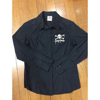 スーパーラヴァーズ(SUPER LOVERS)のSUPER LOVERS 黒ワイシャツ(シャツ/ブラウス(長袖/七分))
