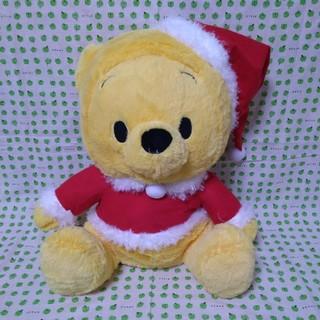 クマノプーサン(くまのプーさん)のくまのプーさん クリスマス ぬいぐるみ(ぬいぐるみ)