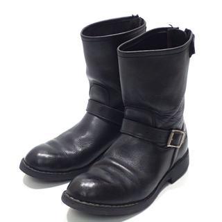 ビブラム(vibram)のC764 ロングエンジニアブーツ ビブラムソール ブラック 28~28.5(ブーツ)