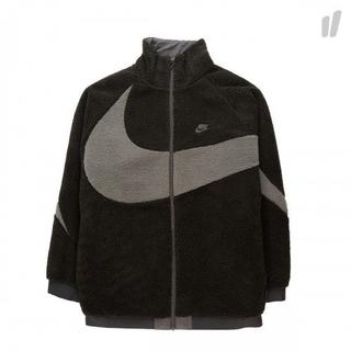 ナイキ(NIKE)のM Black Nike Swoosh Full Zip Jacket 黒(その他)