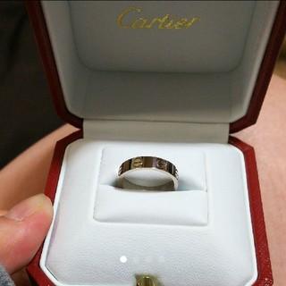 カルティエ(Cartier)のCartier ラブ リング 5号 新品(リング(指輪))