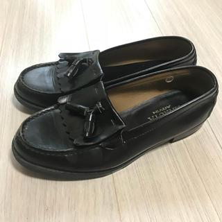 ハルタ(HARUTA)の【HARUTA】タッセルローファー 黒 25cm SI3D4515(ローファー/革靴)