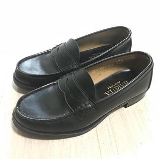ハルタ(HARUTA)の【HARUTA】ローファー  黒 22.5cm SBJD4514(ローファー/革靴)