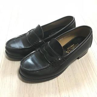 ハルタ(HARUTA)の【HARUTA】ローファー  黒 22EE  NCRE4514(ローファー/革靴)