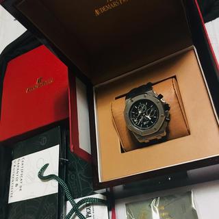 オーデマピゲ(AUDEMARS PIGUET)のオーデマピゲ ロイヤルオーク オフショア クロノグラフ シルバー(腕時計(アナログ))