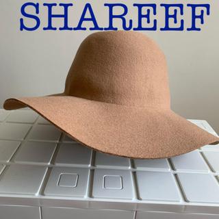 シャリーフ(SHAREEF)のshareef ワイドブリムハット キャメル  (ハット)