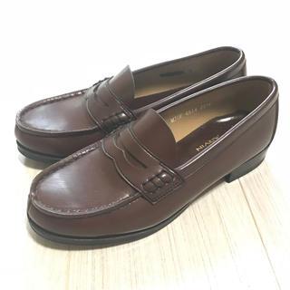 ハルタ(HARUTA)の【HARUTA】ローファー  茶色 22.5cm MJOE4514(ローファー/革靴)