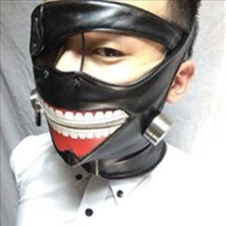 ★限定出荷★ 東京喰種 マスク 眼帯 セット トーキョーグール 金木 コスプレ(アクセサリー)