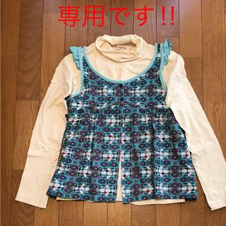 ティンカーベル(TINKERBELL)のチュニックセット(Tシャツ/カットソー)