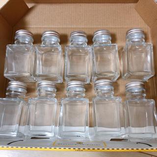 ハーバリウム瓶 スクエア50ml×10本(その他)