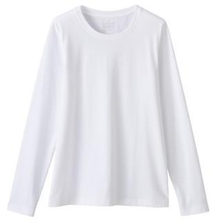 MUJI (無印良品) - 無印良品 オーガニックコットン クルーネック長袖Tシャツ