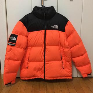 シュプリーム(Supreme)の美品 supreme  northface nuptse jacket XL(ダウンジャケット)