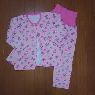 シマムラ(しまむら)のパジャマ 女の子 裏起毛 腹巻き付き 100㎝(パジャマ)