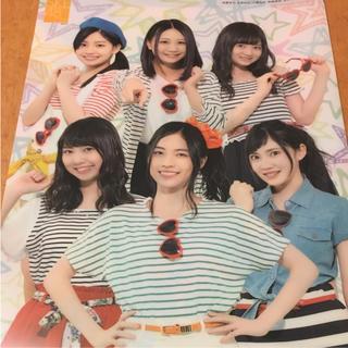 エスケーイーフォーティーエイト(SKE48)のSKE48 非売品 クリアファイル(アイドルグッズ)