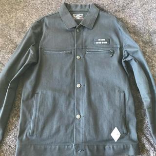 クライミー(CRIMIE)の最終値下げ CRIMIE デニムジャケット ブラック Lサイズ(Gジャン/デニムジャケット)
