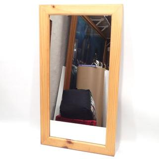 C331 中古 ウォールミラー ミラー 鏡 姿見 壁掛け 家具(壁掛けミラー)