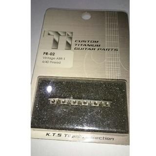 チタニュウムレスポール用サドル  1set(パーツ)