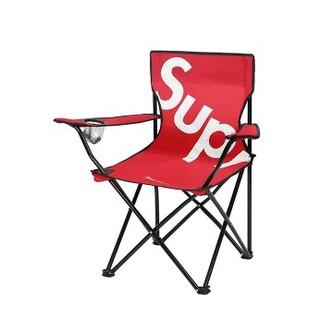 Supreme  戸外折り畳み椅子 ポータブルキャンプ 釣り椅子(折り畳みイス)