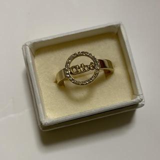 クロエ(Chloe)の【値下げ】Chloe クロエ リング 指輪(ゴールド×クリスタル)(リング(指輪))