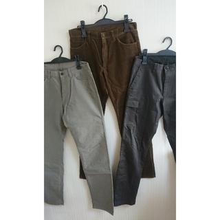 ムジルシリョウヒン(MUJI (無印良品))の無印良品  パンツ  3本セット(その他)