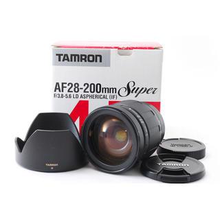 タムロン(TAMRON)の☆近くから遠くまでこれ1本☆SONY用 AF 28-200☆Tamron(レンズ(ズーム))