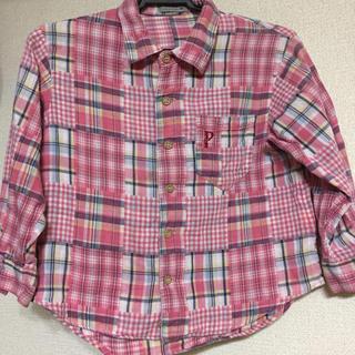 パプ(papp)のPappのシャツ 100㎝(ブラウス)