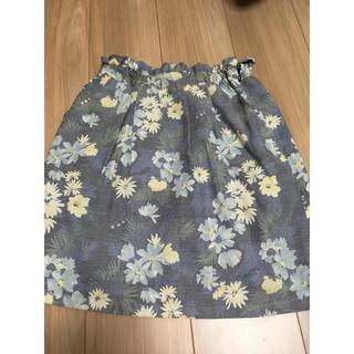 アストリアオディール(ASTORIA ODIER)の花柄♡スカート(ひざ丈スカート)