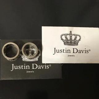 ジャスティンデイビス(Justin Davis)のジャスティンデイビス、ペアリング、19号、13号、silver625(リング(指輪))