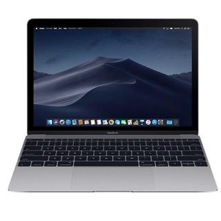 マック(Mac (Apple))のMacBook 12インチ スペースグレー 超美品 Core i5 512GB(ノートPC)