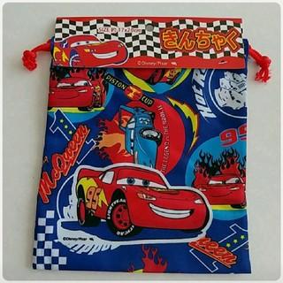 ディズニー(Disney)のカーズ 巾着袋(ランチボックス巾着)