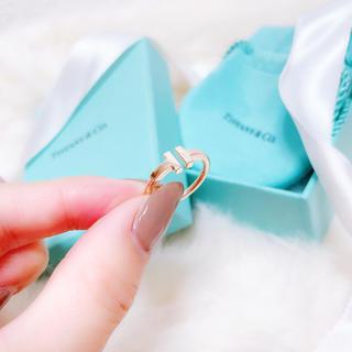 ティファニー(Tiffany & Co.)のTiffany♡Tワイヤーリング(リング(指輪))