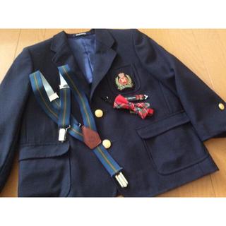 ミキハウス(mikihouse)のMIKI HOUSE  ジャケット  【サスペンダーと 蝶ネクタイ付き】(ジャケット/上着)