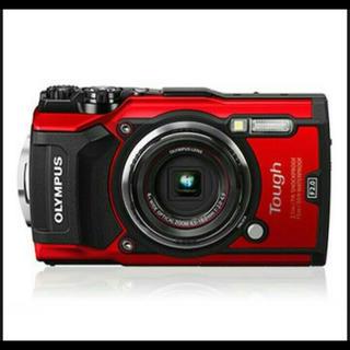 オリンパス(OLYMPUS)のOLYMPUS TG-5-RED デジタルカメラ「Tough TG-5」(コンパクトデジタルカメラ)