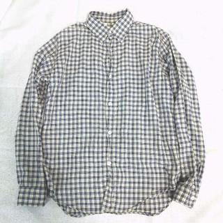 エヌハリウッド(N.HOOLYWOOD)のN.HOOLYWOOD チェックシャツ 38 イエロー×ブルー(シャツ)