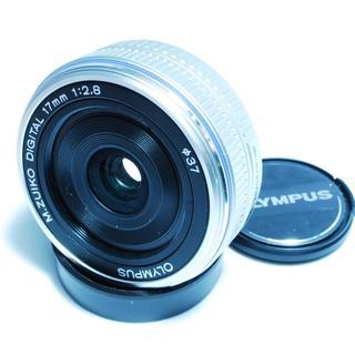 オリンパス(OLYMPUS)の❤️新品未使用❤️オリンパス M.Zuiko 17mm❤️(レンズ(単焦点))
