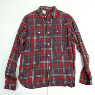 エヌハリウッド(N.HOOLYWOOD)のN.HOOLYWOOD チェックネルシャツ 38(シャツ)