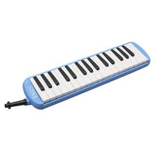 良音!【未使用】32 Key Melodicaハーモニカバッグ付 - ブルー(その他)