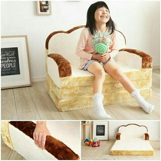 話題の食パン型ソファベッド★低反発★ かわいい♡(ソファベッド)