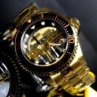 インビクタ(INVICTA)の【激レア】Invicta メンズ ゴールド ゴースト【定価13万円】(腕時計)