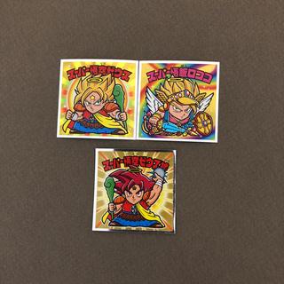 ドラゴンボール(ドラゴンボール)のドラゴンボール ビックリマンチョコ セット 西日本2枚 東日本1枚(ステッカー(シール))