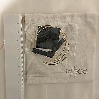 バイボー(by boe)のByboeオープンリーフピアス(ピアス)