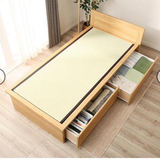 ニトリ(ニトリ)の約半年の使用、畳ベッド(シングルベッド)