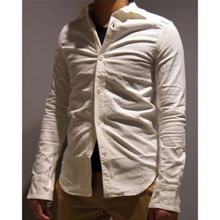 エイケイエム(AKM)の定価29160円 AKM ストレッチドレスシャツ wjkジュンハシモト(シャツ)