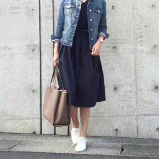 ジーユー(GU)のフラワーレーススカート♡gu (ひざ丈スカート)