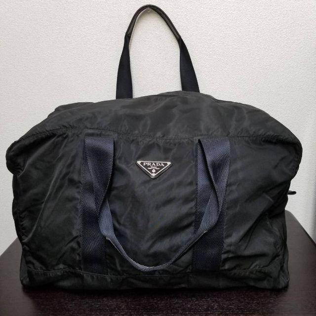 a4f76019c105 PRADA - プラダ ボストンバッグ 黒 テスート お得!の通販 by yo-'s shop ...