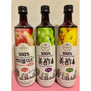 コストコ(コストコ)の美酢【3本セット】パイナップル、マスカット、もも(その他)